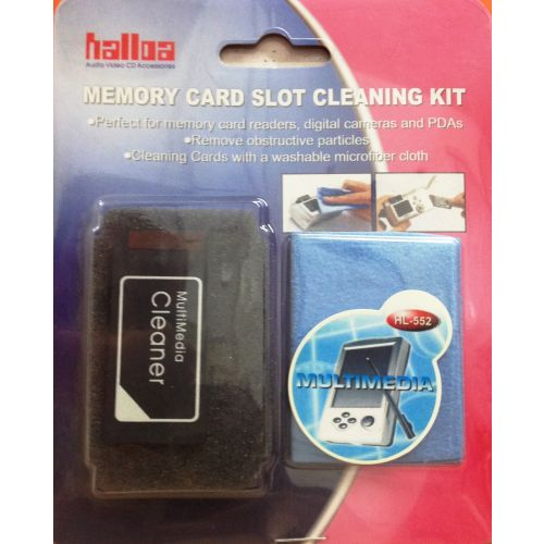Memory Card Slot Cleaning Kit